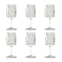 Vinglas/Plastglas CLUB No. 9 Koziol Crystal Clear Superglas 6-pack | Online hos Northmans.se