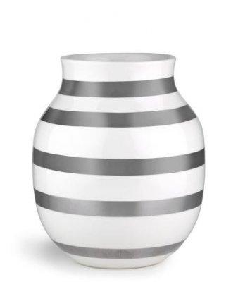 Bild av Omaggio Vas mellan 20 cm, Silver