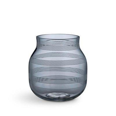 Bild av Omaggio Vas mellan 17 cm, Blå/Grå (Steel blue)
