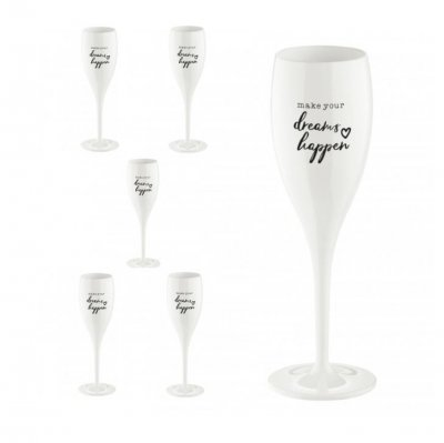 Champagneglas Cheers No.1 Make your Dreams happen | Koziol online hos Northmans.se