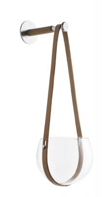 Kruka Design With Light 14 cm, klar