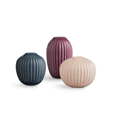 Bild av Hammershøi Vas miniatyr 3 pack, Rosa