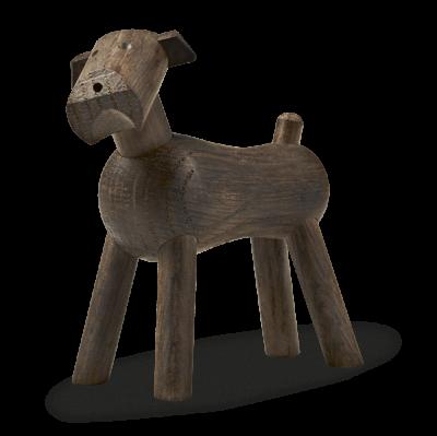 Kay Bojesen Hund Tim 7,5 cm, mörk