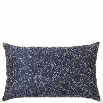 Bild av Kudde Stitch 30x50 cm, Blå