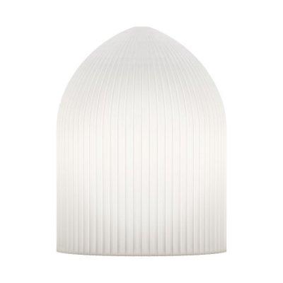 Lampa Ripples Curve Vit Ø 15 cm