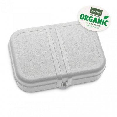 Matlåda m. avdelare PASCAL 2-pack L Organic Grå