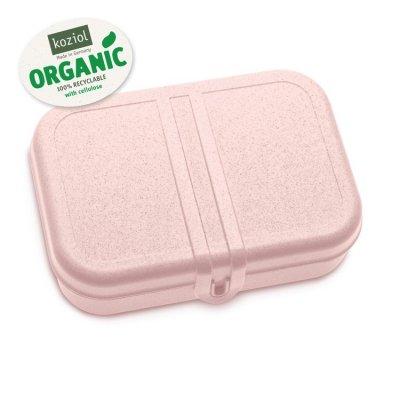 Matlåda m. avdelare PASCAL 2-pack L Organic Rosa