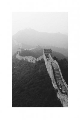 Print The Great Wall of China (fler stl) (Storlek: 21x30 cm, Vit marginal: Ingen marginal)
