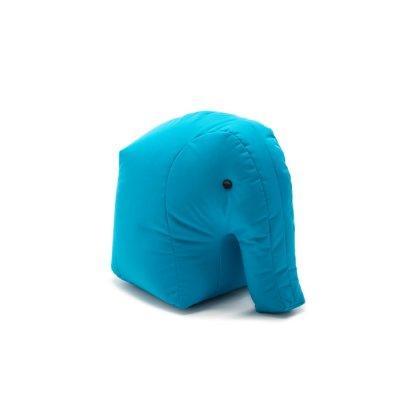Sittsäck Happy Zoo Elefant Carl, Ljusblå