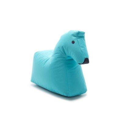 Sittsäck Happy Zoo Häst Lotte, Ljusblå