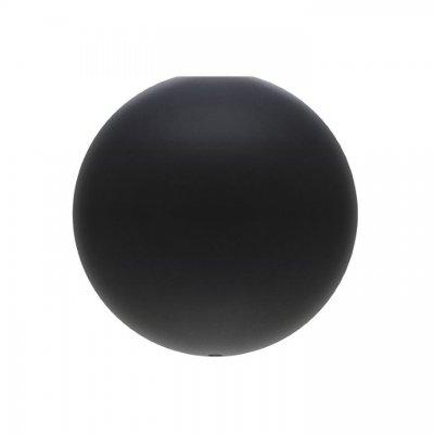 VITA Takkopp Cannonball m. sladd LED E27-15W Svart