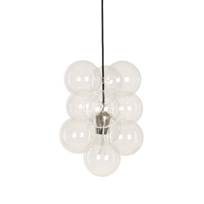 Lampa DIY set med 12 glaskulor, Klar