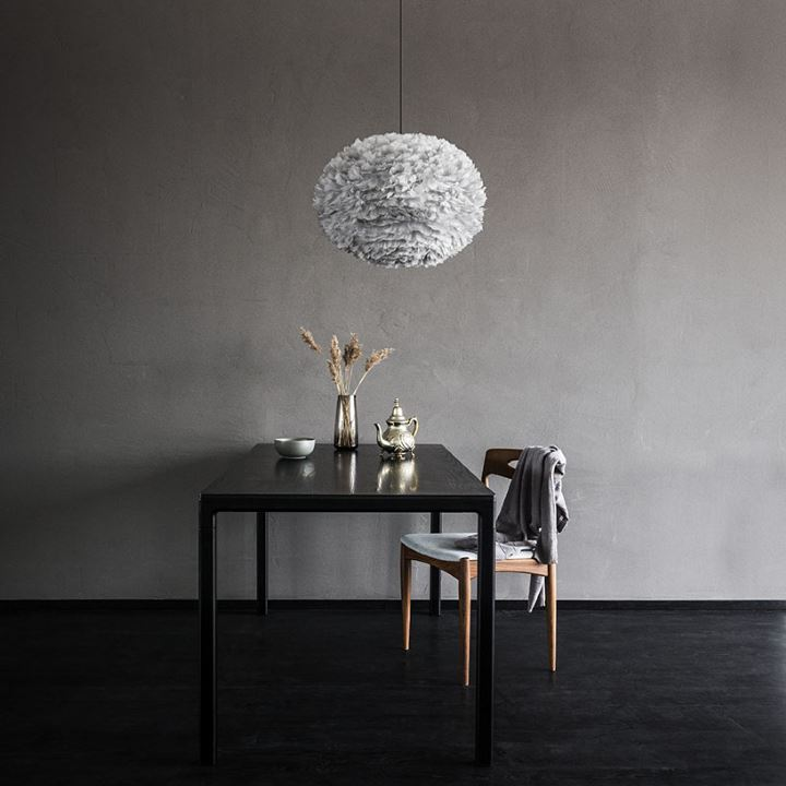 lampa eos ljusgr large 65 cm vita. Black Bedroom Furniture Sets. Home Design Ideas